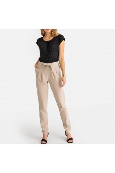 Pantaloni drepti ANNE WEYBURN GFR101 bej