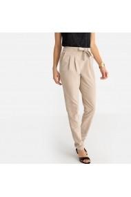 Pantaloni drepti ANNE WEYBURN GFR101 bej - els