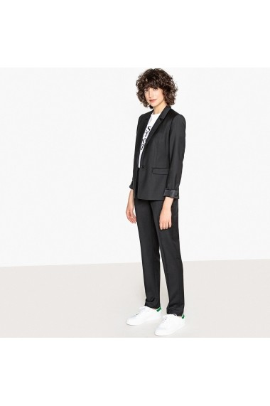 Pantaloni drepti La Redoute Collections GFR831 negru