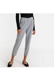 Pantaloni drepti La Redoute Collections GFR832 alb