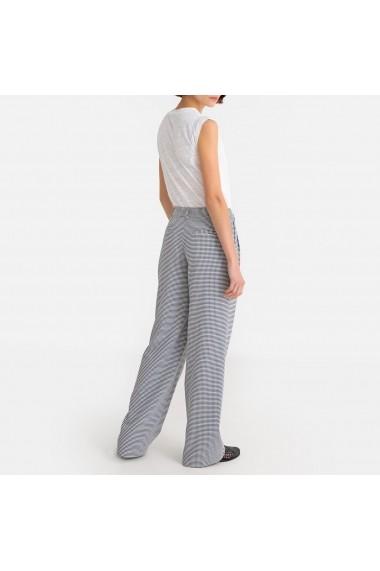 Pantaloni largi La Redoute Collections GFR833 alb