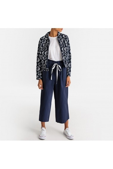 Pantaloni largi La Redoute Collections GFR866 bleumarin