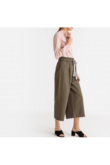 Pantaloni largi La Redoute Collections GFR866 kaki