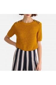 Пуловер La Redoute Collections GFR921-5550 жълто