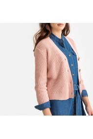 Cardigan La Redoute Collections GFR940 roz