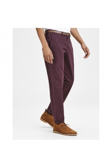 Pantaloni JACK & JONES GFS014 bordo