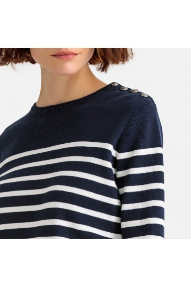 Pulover La Redoute Collections GFS181 bleumarin