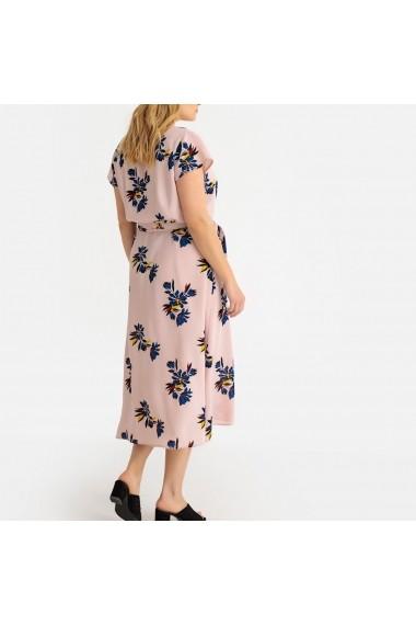 Rochie midi CASTALUNA GFS245 roz