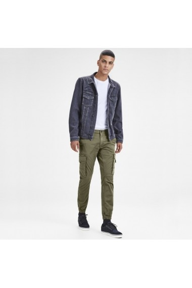 Pantaloni JACK & JONES GFS303 kaki - els