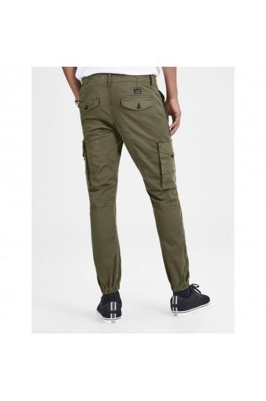 Pantaloni JACK & JONES GFS303 kaki