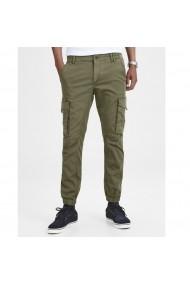 Pantaloni lungi cargo JACK & JONES GFS303 kaki