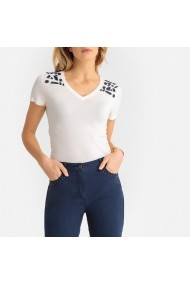 Тениска ANNE WEYBURN GFS923-10475 екрю