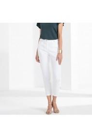 Pantaloni drepti ANNE WEYBURN GFT113 alb