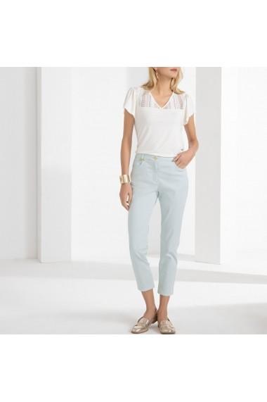 Pantaloni drepti ANNE WEYBURN GFT113 albastru