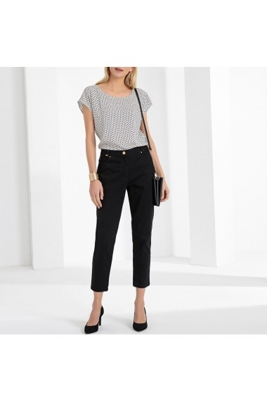 Pantaloni drepti ANNE WEYBURN GFT113 negru