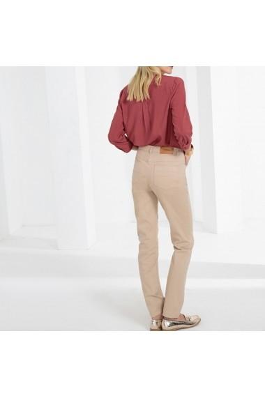 Pantaloni drepti ANNE WEYBURN GFT115 bej