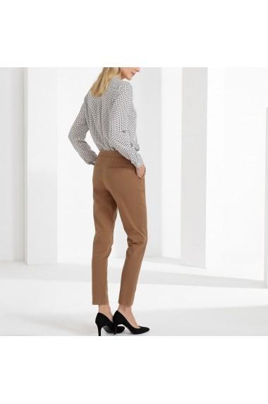 Pantaloni drepti ANNE WEYBURN GFT118 bej