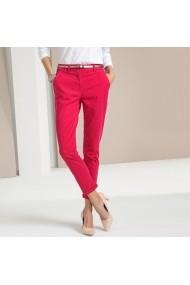 Pantaloni drepti ANNE WEYBURN GFT118 rosu