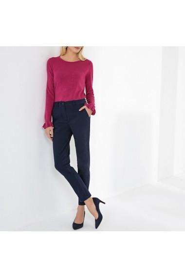 Pantaloni drepti ANNE WEYBURN GFT118 bleumarin - els