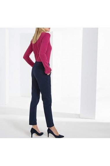 Pantaloni drepti ANNE WEYBURN GFT118 bleumarin