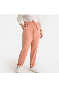 Pantaloni drepti CASTALUNA GFT147 roz