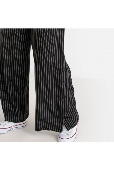 Pantaloni largi CASTALUNA GFT180 negru