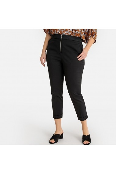 Pantaloni skinny CASTALUNA GFT201 negru