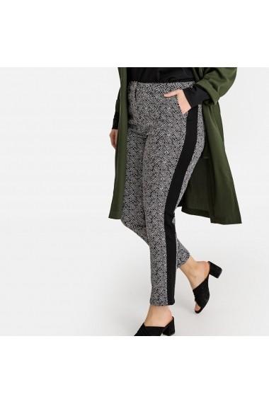 Pantaloni skinny CASTALUNA GFT356 negru