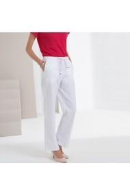Широк панталон ANNE WEYBURN GFT597-10465 бяло