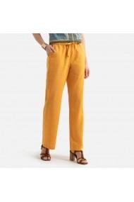 Pantaloni ANNE WEYBURN GFT597 galben