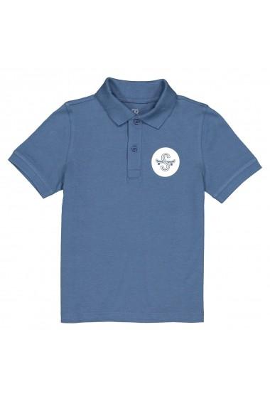 Tricou polo La Redoute Collections GFT960 albastru LRD-GFT960-1524