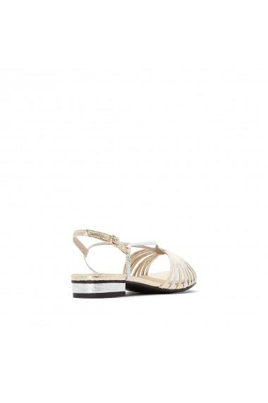 Sandale La Redoute Collections GFU036 argintiu