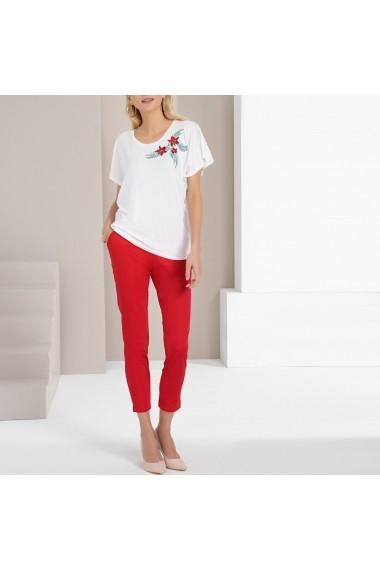 Pantaloni drepti ANNE WEYBURN GFU606 rosu