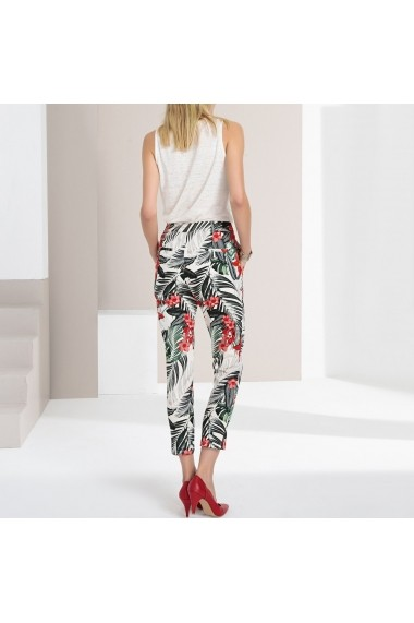 Pantaloni drepti ANNE WEYBURN GFU610 Floral - els