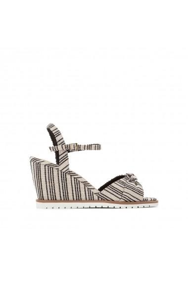 Sandale cu toc La Redoute Collections GFU758 maro