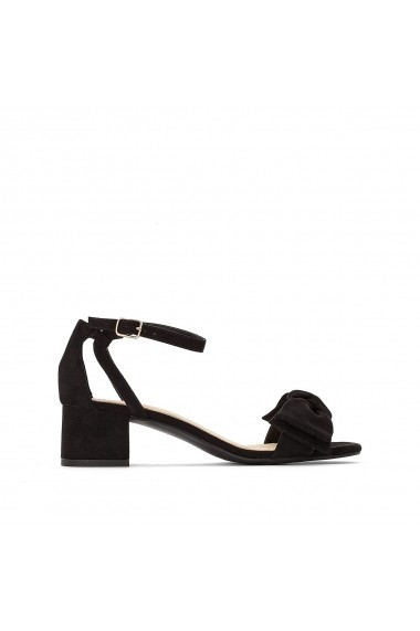 Sandale cu toc La Redoute Collections GFU855 negru