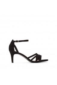 Sandale cu toc La Redoute Collections GFU878 negru