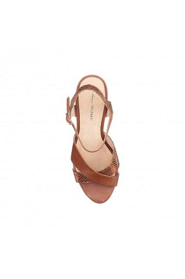 Sandale cu toc ANNE WEYBURN GFV054 maro