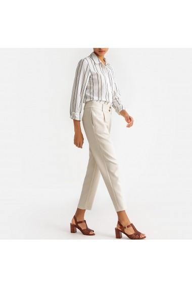 Pantaloni drepti La Redoute Collections GFV802 bej