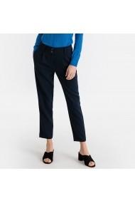 Pantaloni drepti La Redoute Collections GFV802 bleumarin