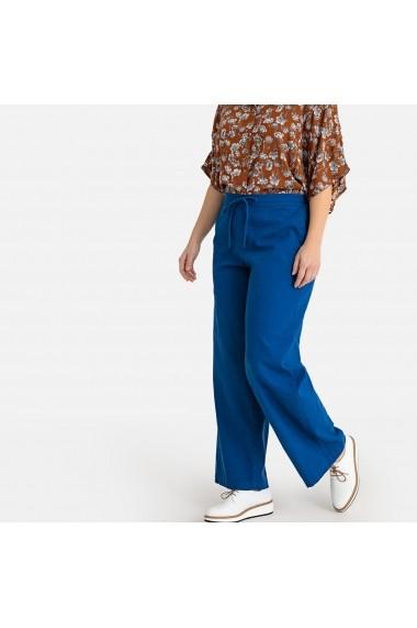 Pantaloni largi CASTALUNA GFW057 albastru