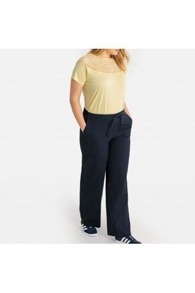 Pantaloni largi CASTALUNA GFW057 bleumarin