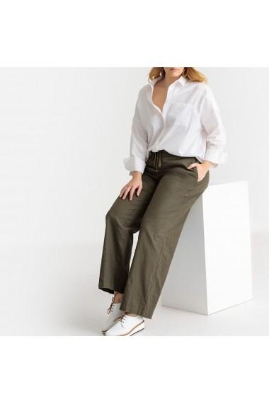 Pantaloni largi CASTALUNA GFW057 kaki
