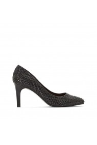 Pantofi cu toc La Redoute Collections GFW058 negru