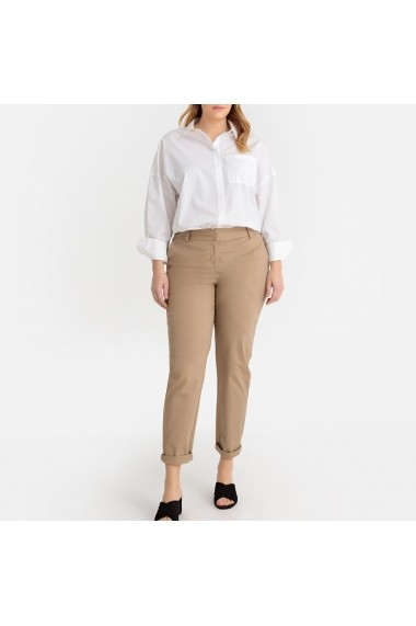 Pantaloni drepti CASTALUNA GFW066 bej