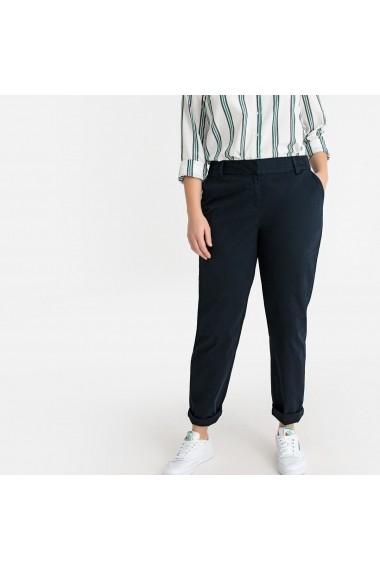 Pantaloni drepti CASTALUNA GFW066 bleumarin
