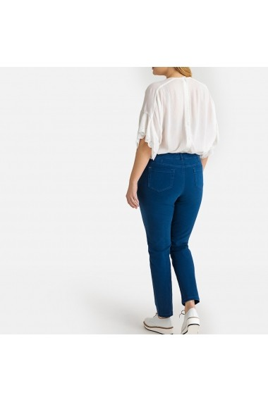 Pantaloni skinny CASTALUNA GFW068 albastru