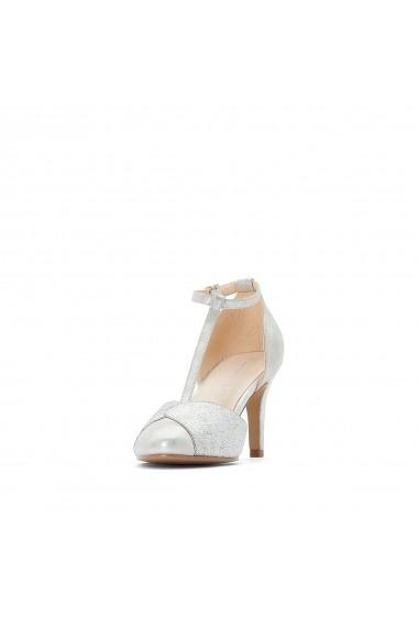 Pantofi cu toc La Redoute Collections GFY117 argintiu