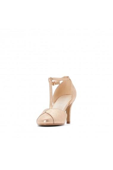 Pantofi cu toc La Redoute Collections GFY117 roz - els