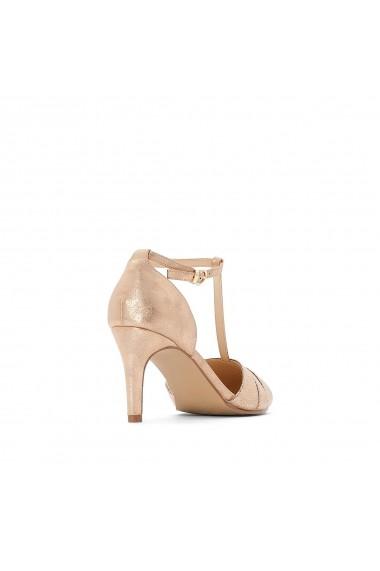 Pantofi cu toc La Redoute Collections GFY117 roz